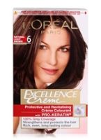 L'Oreal Paris Excellence Creme Hair Color  - 6 Natural Light Brown