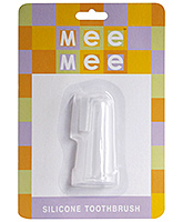Mee Mee Silicone Toothbrush - Made Of High Quality Food Grade