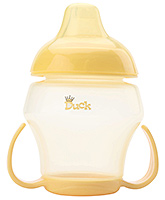 Buy Duck Soft Spout Cup with Bottom Handle Yellow 250 ml