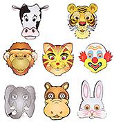 Karmallys Animal Face Masks