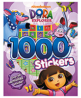 Parragon Dora The Explorer 1000 Stickers Book - English