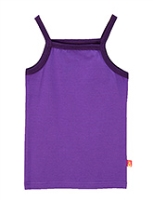 awerganic Singlet Plain Organic Cotton Slip - Purple