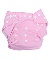 Fab N Funky Cloth Diaper With Insert - Pink