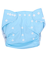 Fab N Funky Cloth Diaper With Insert - Sky Blue