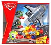 Disney Pixar Cars Action Agents Spy Jet Getaway