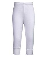 Kooky Plain Legging - White