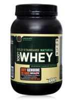 Optimum Nutritions Gold Standard Natural 100% Whey - Chocolate
