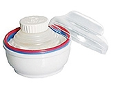 Tollyjoy Powder Puff With Compartment