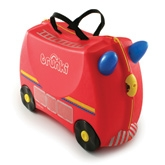 Trunki - Ride On Suitcase Freddie The Fire Engine