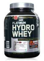 Optimum Nutritions Platinum Hydrowhey - Supercharged Strawberry