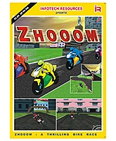 Infotech Resources Zhooom Bike Action Game - CD-ROM