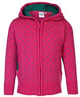 Babyhug Sweater Front Open Pink - Full Sleeves