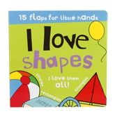 15 Flaps For Little Hands I love Shapes