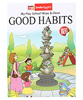 Smile Books My Play School Wipe And Clean Good Habits  - English