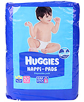Huggies Nappi Pads - 20 Disposable Pads