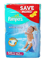Pampers - Active Baby Diapers