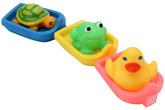 Mee Mee - Bath Toys 6 Months+, 3 Pieces, Your Perfect Companion In The B...