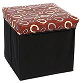 Fab N Funky Foldable Storage Box Brown - Printed