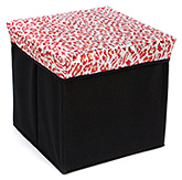 Fab N Funky Foldable Storage Box - Abstract Print
