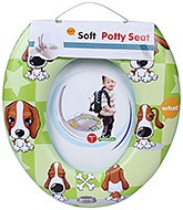 Fab N Funky Soft Baby Potty Seat - Green