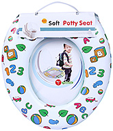 Fab N Funky Soft Baby Potty Seat - Multi Print