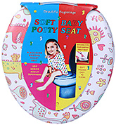 Fab N Funky Soft Baby Potty Seat - Multi Color