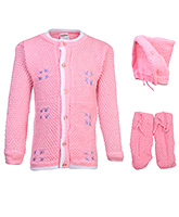 Babyhug Front Open Winter Wear Set