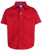 Babyhug Half Sleeves Shirt