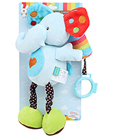 Honey Bunny Musical Interactive Toy - Elephant