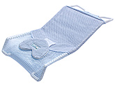 Fab N Funky Comfort Bather With Heart Shape Head Support - Sky Blue