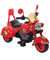 Fab N Funky Battery Operated Baby Bike - Red And Black