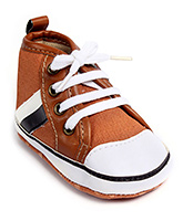 Cute Walk Baby Booties - Lace Up Style