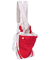 Fab N Funky Fashion Baby Carrier - Red And Cream