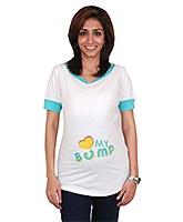 Morph Maternity Top Half Sleeves - Printed