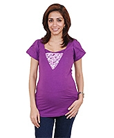 Morph Maternity Top Half Sleeves - Concealed Vertical Nursing