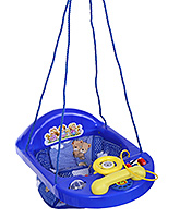 New Natraj Activity Swing Teddy Print - Blue