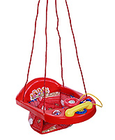 New Natraj Activity Swing Red - Teddy Print