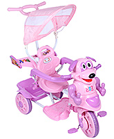 Fab N Funky Musical Baby Tricycle - Pink And Purple