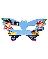 Birthdays & Parties Eye Mask Pirates Theme - 10 Pieces