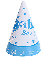 Birthdays & Parties Paper Caps Baby Shower Theme - 10 Pieces