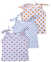 Babyhug Tie Up Jhabla Multi Color - Set Of 3