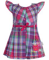 Babyhug Short Sleeves Frock Multi Colour - Checks Print