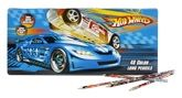 Stationery - Color Long Pencils - Hot Wheels