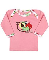 Babyhug Full Sleeves Vest - Fruit Power Print