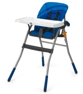 Chicco - Jazzy Highchair Blue Wave