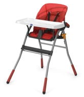 Chicco - Jazzy Highchair Red Wave