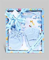 Montaly Baby Gift Set Blue - Set of 4