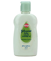 Johnson's Baby Natural Massage Oil