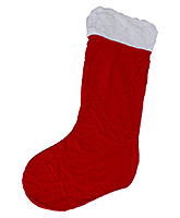 Party In A Box Large Stockings - Red And White