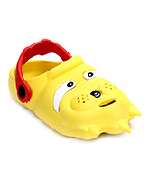 Bash Clog With Back Ankle Strap - Yellow